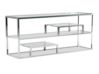 Barolo Steel Console Table