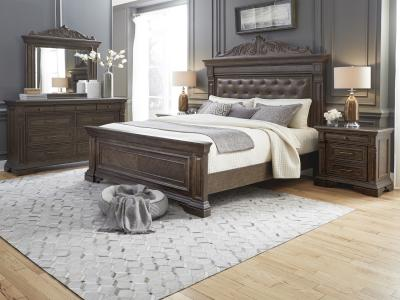 Bedford Heights Queen Size Bed Set
