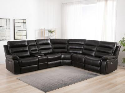 Belair Power Recliner Sectional by Midha's Furniture Serving Brampton, Mississauga, Etobicoke, Toronto, Scraborough, Caledon, Cambridge, Oakville, Markham, Ajax, Pickering, Oshawa, Richmondhill, Kitchener, Hamilton and GTA area