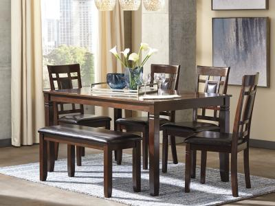 Bennox 6 PC Dining Room Set by Midha's Furniture Serving Brampton, Mississauga, Etobicoke, Toronto, Scraborough, Caledon, Cambridge, Oakville, Markham, Ajax, Pickering, Oshawa, Richmondhill, Kitchener, Hamilton and GTA area