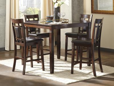 Bennox Pub high 5 PC Dining Room Set