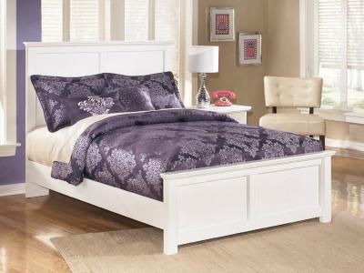 Ashley Bostwick Shoals White Queen Bed by Midha's Furniture Serving Brampton, Mississauga, Etobicoke, Toronto, Scraborough, Caledon, Cambridge, Oakville, Markham, Ajax, Pickering, Oshawa, Richmondhill, Kitchener, Hamilton and GTA area