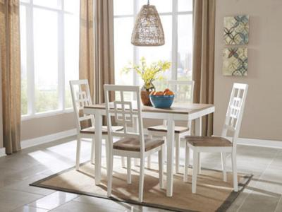 Brovada 5 PC RECT DRM Table Set by Midha's Furniture Serving Brampton, Mississauga, Etobicoke, Toronto, Scraborough, Caledon, Cambridge, Oakville, Markham, Ajax, Pickering, Oshawa, Richmondhill, Kitchener, Hamilton and GTA area