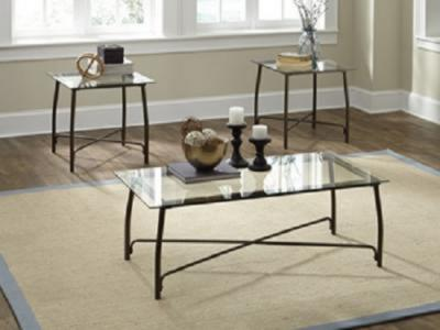 Burmesque  3 pc Coffee Table Set