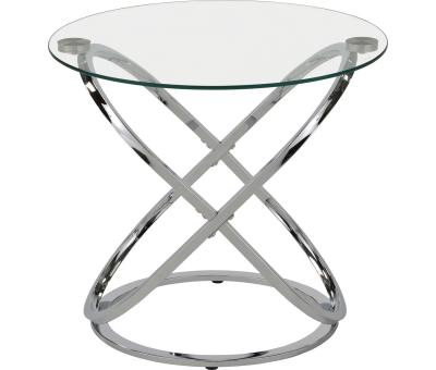 CARLYN-ACCENT TABLE-CHROME