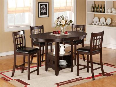 Cayman Pub Height 5 PC Set by Midha's Furniture Serving Brampton, Mississauga, Etobicoke, Toronto, Scraborough, Caledon, Cambridge, Oakville, Markham, Ajax, Pickering, Oshawa, Richmondhill, Kitchener, Hamilton and GTA area