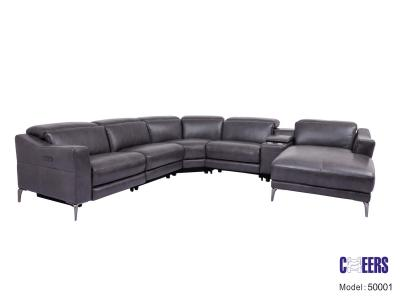 Cheers Genuine Leather Sectional by Midha's Furniture Serving Brampton, Mississauga, Etobicoke, Toronto, Scraborough, Caledon, Cambridge, Oakville, Markham, Ajax, Pickering, Oshawa, Richmondhill, Kitchener, Hamilton and GTA area