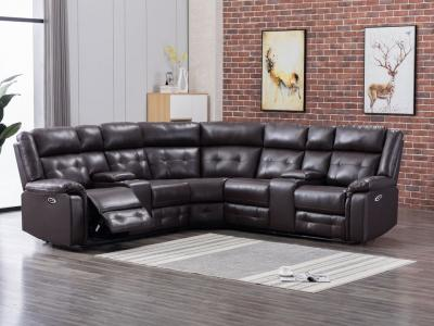Cobalt Manual Recliner Sectional