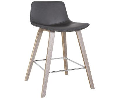DURANT (Set of Two) Grey Bar Stools by Midha's Furniture Serving Brampton, Mississauga, Etobicoke, Toronto, Scraborough, Caledon, Cambridge, Oakville, Markham, Ajax, Pickering, Oshawa, Richmondhill, Kitchener, Hamilton and GTA area