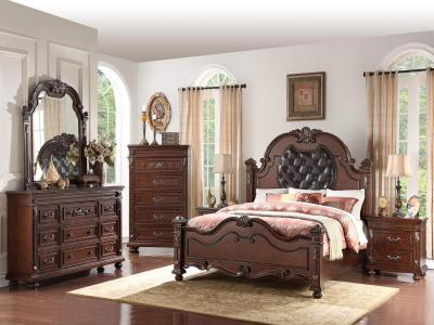Destiny 6 PC Queen Bedroom Set by Midha's Furniture Serving Brampton, Mississauga, Etobicoke, Toronto, Scraborough, Caledon, Cambridge, Oakville, Markham, Ajax, Pickering, Oshawa, Richmondhill, Kitchener, Hamilton and GTA area