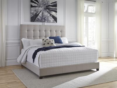 Ashley Dolante Modern Queen Size Fabric Bed by Midha's Furniture Serving Brampton, Mississauga, Etobicoke, Toronto, Scraborough, Caledon, Cambridge, Oakville, Markham, Ajax, Pickering, Oshawa, Richmondhill, Kitchener, Hamilton and GTA area