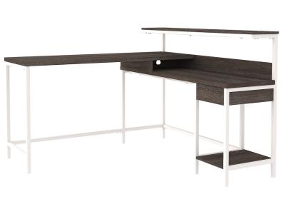 Dorrinson Desk by Midha's Furniture Serving Brampton, Mississauga, Etobicoke, Toronto, Scraborough, Caledon, Cambridge, Oakville, Markham, Ajax, Pickering, Oshawa, Richmondhill, Kitchener, Hamilton and GTA area