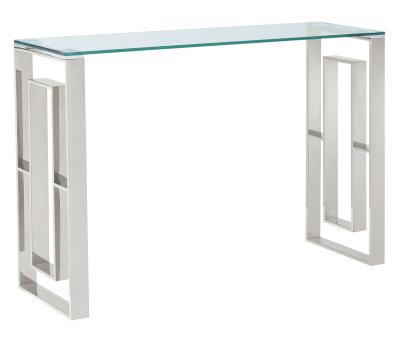 EROS-CONSOLE TABLE-SILVER by Midha's Furniture Serving Brampton, Mississauga, Etobicoke, Toronto, Scraborough, Caledon, Cambridge, Oakville, Markham, Ajax, Pickering, Oshawa, Richmondhill, Kitchener, Hamilton and GTA area