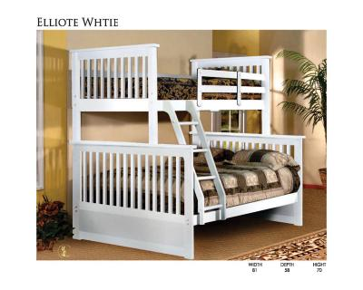 Elliote Bunk Bed White