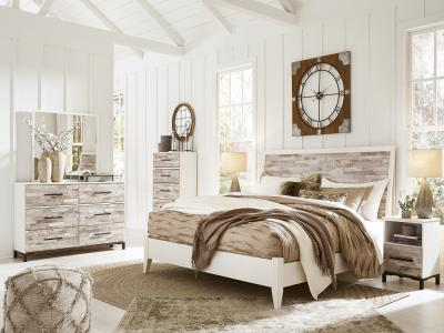 Evanni 6 pc Bedroom Set