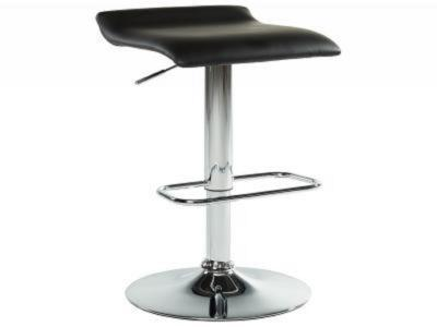 FABIA II-GAS LIFT STOOL-BLACK