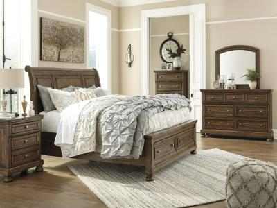 Flynnter 6 pc Bedroom set with storage