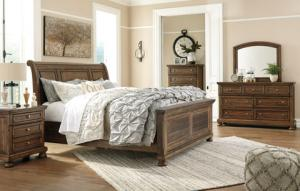 Flynnter 6PC Queen Bedroom Set W/Storage, B719, Bedroom Sets, Flynnter 6PC Queen Bedroom Set W/Storage from Ashley by Midha Furniture serving Brampton, Mississauga, Etobicoke, Toronto, Scraborough, Caledon, Cambridge, Oakville, Markham, Ajax, Pickering, Oshawa, Richmondhill, Kitchener, Hamilton, Cambridge, Waterloo and GTA area