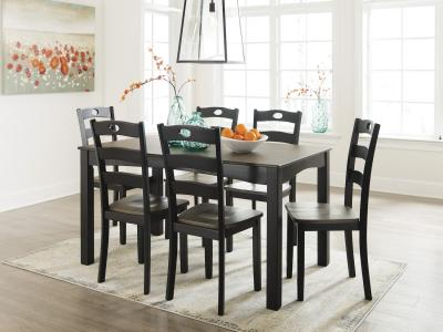 Froshburg 7 PC Dining Room Table Set