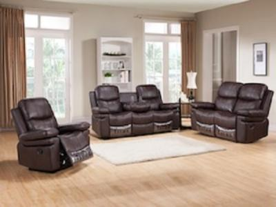 GLAZE CHOCOLATE Sectionals & Recliners