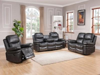 GLAZE GREY Sectionals & Recliners