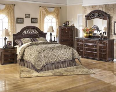 Gabriela 6 pc Bedroom Set without storage