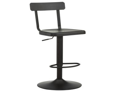 HAINES-ADJUSTABLE STOOL-BLACK