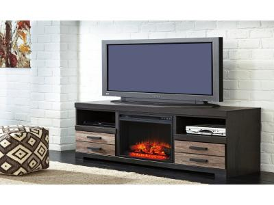 Harlinton LG TV Stand w/Fireplace Option