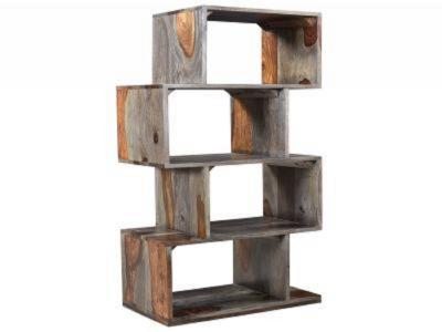 IDRIS-SHELVING UNIT-GREY 2-TONE by Midha's Furniture Serving Brampton, Mississauga, Etobicoke, Toronto, Scraborough, Caledon, Cambridge, Oakville, Markham, Ajax, Pickering, Oshawa, Richmondhill, Kitchener, Hamilton and GTA area