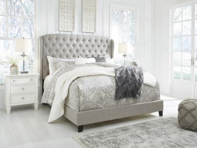 Ashley Jerary Queen Modern Stylish Bed by Midha's Furniture Serving Brampton, Mississauga, Etobicoke, Toronto, Scraborough, Caledon, Cambridge, Oakville, Markham, Ajax, Pickering, Oshawa, Richmondhill, Kitchener, Hamilton and GTA area