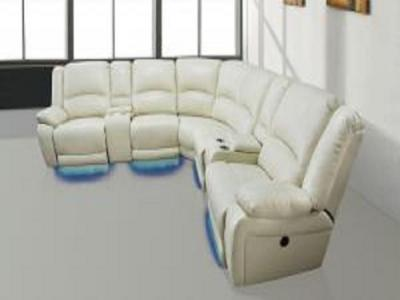 KING POWER RECLINER SECTIONAL Sectionals & Recliners