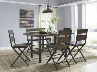 Kavara 6 PC Counter Height Dining Set
