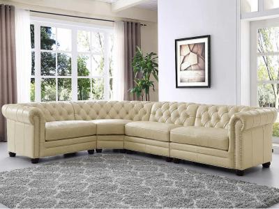 Amax Leather Genuine Leather Kennedy Sectional Sofa in Classic Style by Midha's Furniture Serving Brampton, Mississauga, Etobicoke, Toronto, Scraborough, Caledon, Cambridge, Oakville, Markham, Ajax, Pickering, Oshawa, Richmondhill, Kitchener, Hamilton and GTA area