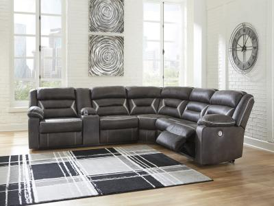 Kincord Power Recliner Sectional
