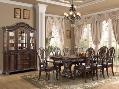 King Arthur Dining Set by Midha's Furniture Serving Brampton, Mississauga, Etobicoke, Toronto, Scraborough, Caledon, Cambridge, Oakville, Markham, Ajax, Pickering, Oshawa, Richmondhill, Kitchener, Hamilton and GTA area