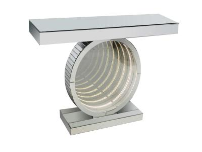 LED Round Console by Midha's Furniture Serving Brampton, Mississauga, Etobicoke, Toronto, Scraborough, Caledon, Cambridge, Oakville, Markham, Ajax, Pickering, Oshawa, Richmondhill, Kitchener, Hamilton and GTA area