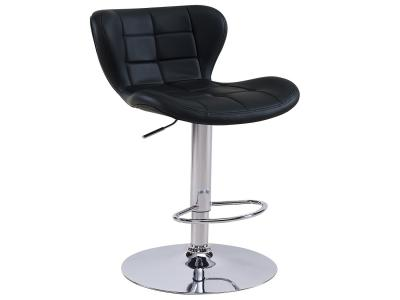 LIAM-GAS LIFT STOOL-BLACK