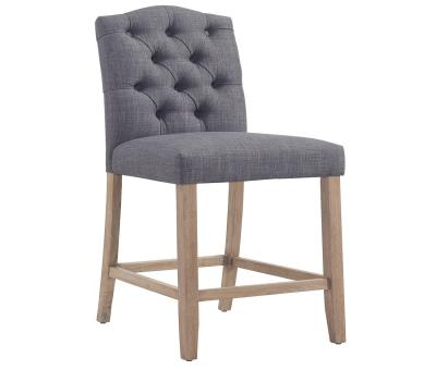 Lucian 26'' Counter Stool- Grey by Midha's Furniture Serving Brampton, Mississauga, Etobicoke, Toronto, Scraborough, Caledon, Cambridge, Oakville, Markham, Ajax, Pickering, Oshawa, Richmondhill, Kitchener, Hamilton and GTA area