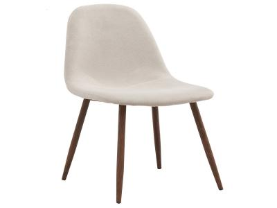 LYNA-SIDE CHAIR-BEIGE by Midha's Furniture Serving Brampton, Mississauga, Etobicoke, Toronto, Scraborough, Caledon, Cambridge, Oakville, Markham, Ajax, Pickering, Oshawa, Richmondhill, Kitchener, Hamilton and GTA area