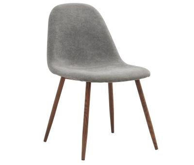 LYNA-SIDE CHAIR-GREY by Midha's Furniture Serving Brampton, Mississauga, Etobicoke, Toronto, Scraborough, Caledon, Cambridge, Oakville, Markham, Ajax, Pickering, Oshawa, Richmondhill, Kitchener, Hamilton and GTA area