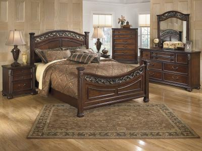 Leahlyn 6 pc Bedroom Set