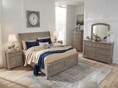 Lettner 6 PC Queen Size Bed Room Set
