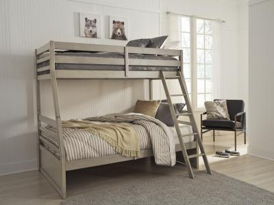 Lettner Bunk Bed (Twin/Full) by Midha's Furniture Serving Brampton, Mississauga, Etobicoke, Toronto, Scraborough, Caledon, Cambridge, Oakville, Markham, Ajax, Pickering, Oshawa, Richmondhill, Kitchener, Hamilton and GTA area