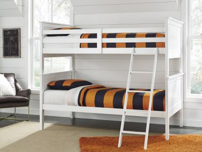 Lulu Bunk Bed (Twin/Twin) by Midha's Furniture Serving Brampton, Mississauga, Etobicoke, Toronto, Scraborough, Caledon, Cambridge, Oakville, Markham, Ajax, Pickering, Oshawa, Richmondhill, Kitchener, Hamilton and GTA area