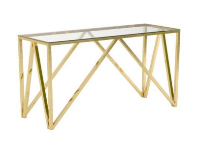 Luxor Gold Console Table