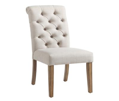 MELIA-SIDE CHAIR-BEIGE by Midha's Furniture Serving Brampton, Mississauga, Etobicoke, Toronto, Scraborough, Caledon, Cambridge, Oakville, Markham, Ajax, Pickering, Oshawa, Richmondhill, Kitchener, Hamilton and GTA area