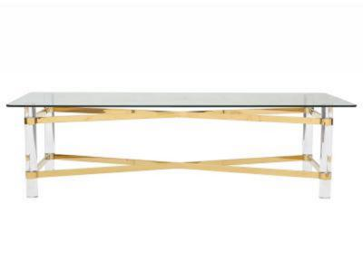 MORELIA II-COFFEE TABLE-CHROME