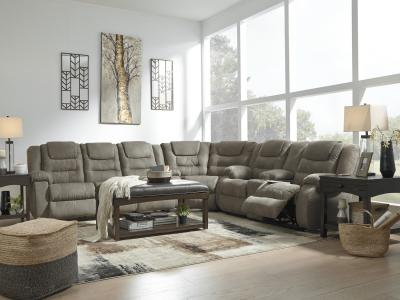 McCade Recliner Sectional
