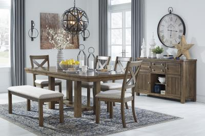 Moriville 6 Pc Regular Height Dining Room Set