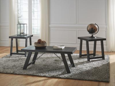 Ashley Noorbrook 3 PC Coffee Table Set in Casual Style by Midha's Furniture Serving Brampton, Mississauga, Etobicoke, Toronto, Scraborough, Caledon, Cambridge, Oakville, Markham, Ajax, Pickering, Oshawa, Richmondhill, Kitchener, Hamilton and GTA area